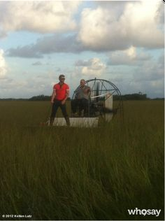 Kellan Lutz at the Everglades National Park
