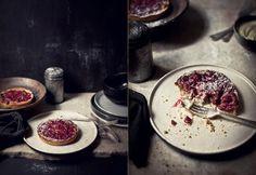 What Katie Ate » Mid November goodies Rhubarb, Mascarpone, and Hazelnut tartlet