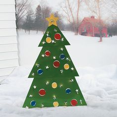 Christmas Tree Lawn Decoration - OrientalTrading.com