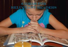 Six Ideas for Reluctant Readers