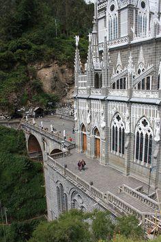 Las Lajas Sanctuary, Colombia Maravillosa!!!!!!!!!!