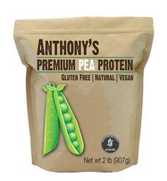 Pea Protein Powder (2-lb.): Gluten-Free & Non-GMO