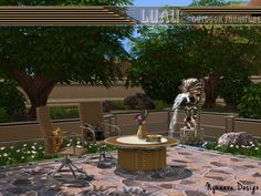 NynaeveDesign's Luau Outdoor Furniture