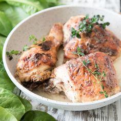 Easy Dijon Chicken or Salmon - Dr. Mark Hyman