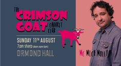 Ormond Hall presents : The Crimson Goat Cabaret Club August 2013  Tickets on sale now http://villagemelbourne.com.au/crimson-goat/  #cabaret #comedy #melbourne #events #villagemelbourne