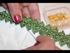 Loom Crochet, Freeform Crochet, Crochet Videos, Crochet Lace, Crochet Chocker, Crochet Necklace Pattern, Irish Crochet Tutorial, Crochet Simple, Crochet Symbols
