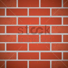 Free brick wall background vector graphic