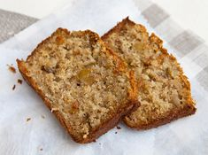 Healthy Low Calorie Banana Bread
