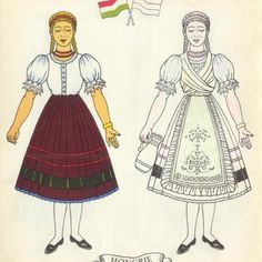 Vintage French Christmas Clip Art | stock-graphics-vintage-french-paper-dolls-eurocolor-0015 | Viintage ...