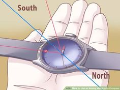 Use an Analog Watch as a Compass