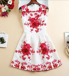 Gorgeous Floral Party Dresses