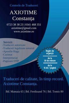 Centrele de Traduceri Axiotime Constanța - Traduceri de calitate, în timp record  - www.axiotime.ro