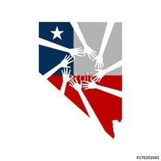 """""""Pray for Las Vegas Nevada. Healing Hands. Vector Illustration"""" Stock image and royalty-free vector files on Fotolia.com - Pic 176302043"""