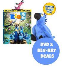 Rio 2 DVD & Blu-ray Deals