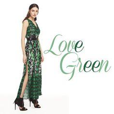 Haftaya yeşilin canlılık ve enerji veren gücü ile başlamak isteyenlere... #ngstyle #ngstylelook #bahar