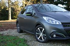 The New Peugeot 208, available in textured paint - a production first for the automotive industry.