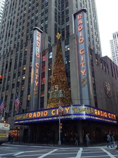 First day of Radio City Christmas Spectacular, New York City