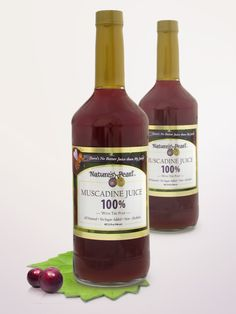 My new FAVORITE Juice... of course I love, love Muscadines - and I hear they have a skin care line