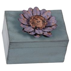 I pinned this Daisy Decorative Box from the True Blue event at Joss and Main!
