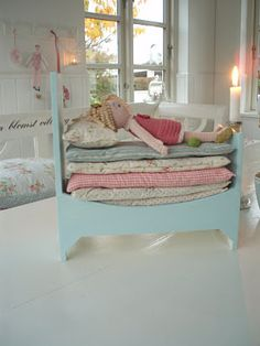 Doll bed cute https://www.facebook.com/MyJunkArta and http://www.kates-olde-world.com/
