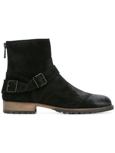 Shop Belstaff buckled ankle boots.