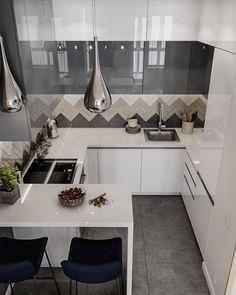 Ikea Kitchen, Living Room Kitchen, Home Decor Kitchen, Home Kitchens, Kitchen Cabinets, Kitchen Layout Interior, Condo Interior, Kitchen Design, Living Room Decor Cozy