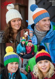 Cool hats with a sporty look.
