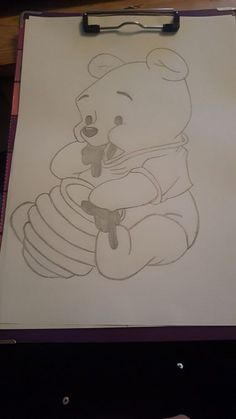 Winnie pooh – Winnie pooh – The post Winnie Pooh – appeared first on Frisuren Tips - People Drawing Cute Disney Drawings, Cool Art Drawings, Pencil Art Drawings, Art Drawings Sketches, Easy Drawings, Animal Drawings, Art Sketches, Drawing Disney, Drawing Art