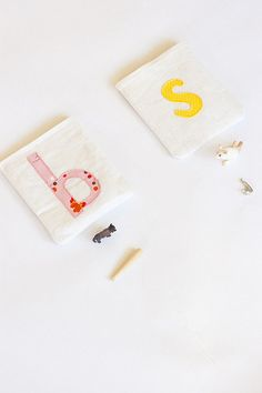letter pouches for toddlers