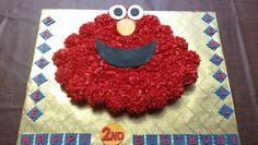 Elmo pull apart cupcake cake by Sweet Blessings by Lou