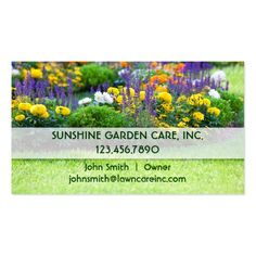 150 best landscaping business cards images on pinterest in 2018 garden and landscape business card flashek Image collections