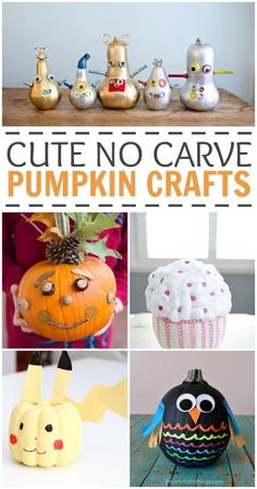 Looking to decorate your pumpkins this year without all the mess? Here are our favorite cute no carve pumpkins ideas you won't want to miss!
