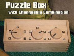 Picture of Puzzle Box - With Changeable Combination