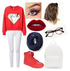 """Untitled #8"" by nazar-erginyavuz on Polyvore featuring Frame Denim, Supra, PB 0110 and Keds"