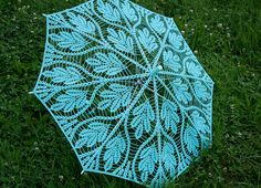 Lace parasol - created by Lenta I& been browsing a lot online this week and keep getting drawn to the gorgeous lace designs that ar. Lace Umbrella, Lace Parasol, Lace Knitting, Crochet Lace, Crochet Rabbit, Umbrellas Parasols, Irish Lace, Crochet Accessories, Lace Design