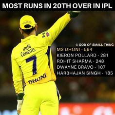 Mahendra Singh Dhoni has scored the highest runs in over in IPL Icc Cricket, Cricket Sport, Dhoni Quotes, Ms Dhoni Wallpapers, Image King, Dance Logo, Ms Dhoni Photos, India Cricket Team, Chennai Super Kings