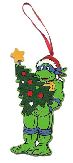 Personalized Teenage Mutant Ninja Turtles Christmas Ornament ...