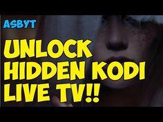 UNLOCK SECRET HIDDEN LIVE TV ON KODI