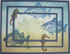 By the Tide-Triple Layer by Nan Cee's - Cards and Paper Crafts at Splitcoaststampers