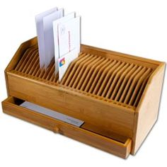 Bill Organizer with Drawer You won't miss a payment or birthday with this system.