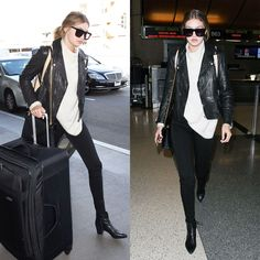 Get the Look: Gigi & Kendall's Airport Fashion – 2020AVE