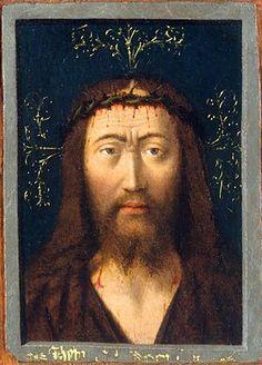 Cabeza de Cristo (Petrus Christus) - Wikipedia, la enciclopedia libre