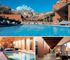 Seven of the Best Spas in North America - Siete de los mejores Spas de América del Norte.