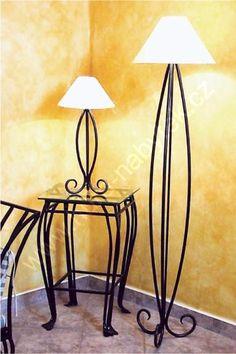 Kovaná lampa RIMINI - kovová stojací lampa vysoká se stínítkem   Hurá-Nábytek.cz Table Lamp, Lighting, Home Decor, Table Lamps, Decoration Home, Room Decor, Lights, Home Interior Design, Lightning
