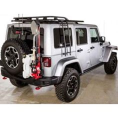 BUILD PACKAGE III (ZEON FRONT PACKAGE, TIRE CARRIER & ROOF RACK)