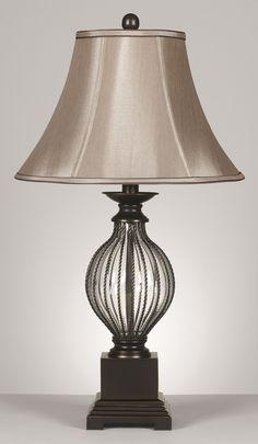 0 000875Ondreya 3 Way Set Of 2 Table Lamps Bronze