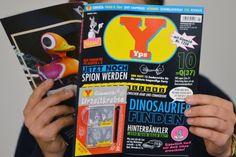 """Zeitschrift """"Yps"""" erscheint im neuen Glanz wieder auf dem Markt"""