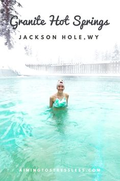 Jackson Hole, Wyoming ein Reisebericht Granite Hot Springs im Winter - de Vacation Places In Usa, Vacation Spots, Family Vacations, Family Travel, Winter Weekend Getaways, Hot Springs Arkansas, Jackson Hole Wyoming, Usa Holidays, Travel Usa