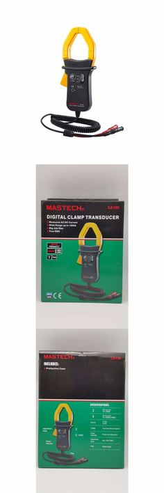 Electrical Testers 126406: Home Electrical Tools Mastech Handheld True-Rms Ac-Dc Digital Clamp Transducer -> BUY IT NOW ONLY: $82.99 on eBay!