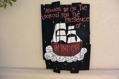 Handmade Distressed Wood Plank Sign Always Be On The by sondering, $40.00